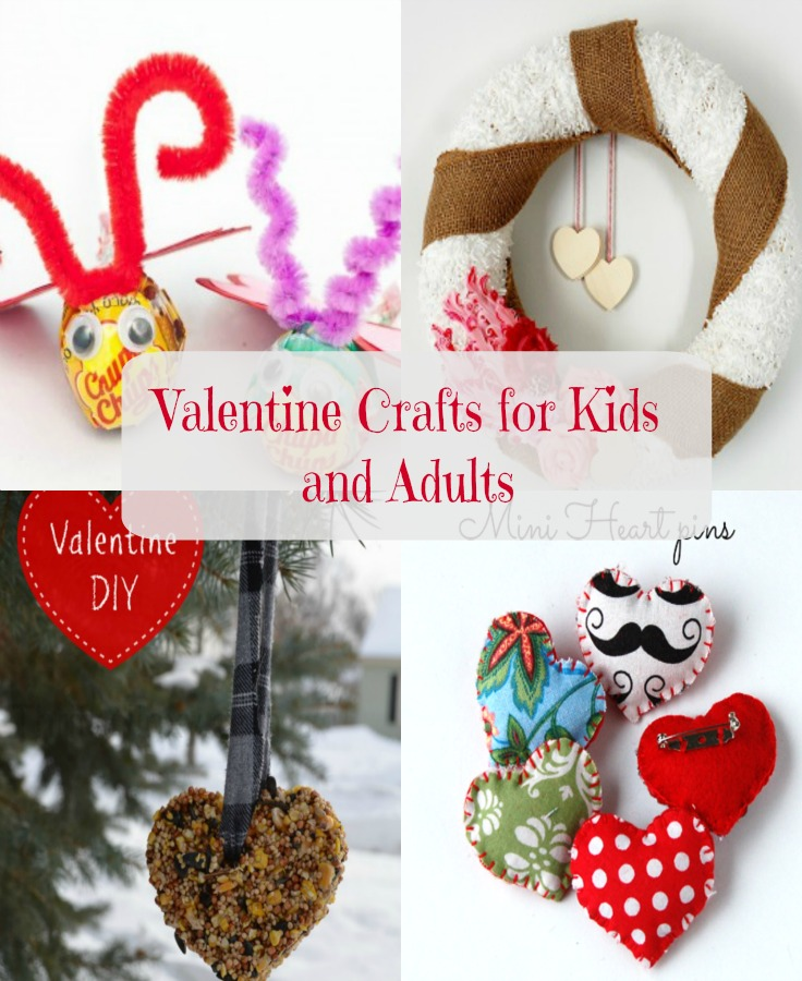DIY Valentine Crafts To Do With Your Kids