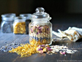 Herbal Bath Tea Jars