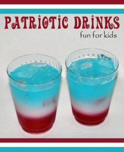 Patriotic-Drinks-for-Kids-laying-liquids