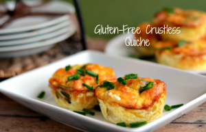 Gluten Free Crustless Quiche Recipe