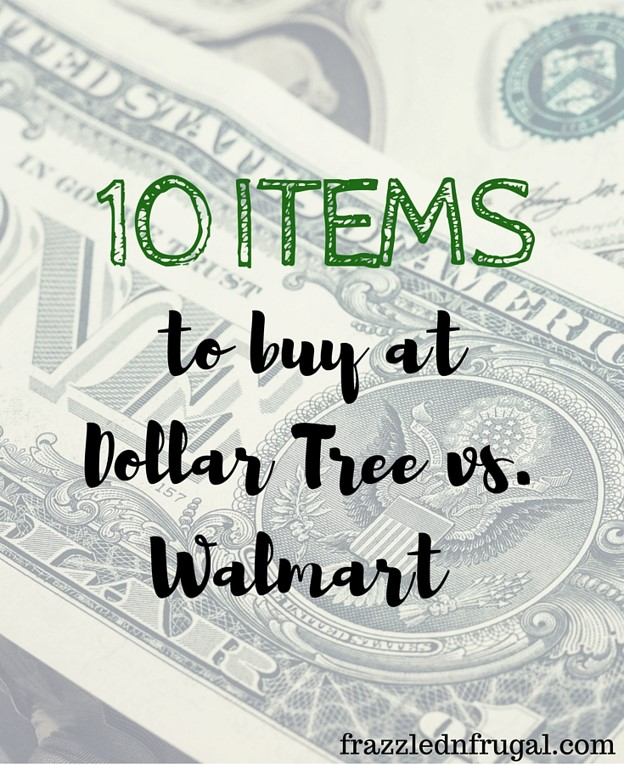 Dollar Tree vs Walmart