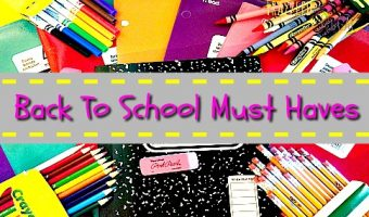 Back To School: School Supplies