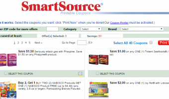 SmartSource Printable Coupons