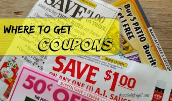 Where to Get Coupons: Printable & Promotional