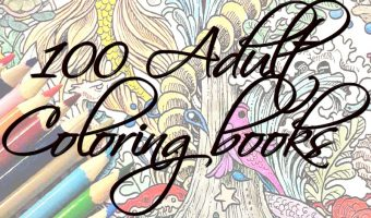 100 Adult Coloring Books for $15 or Less!