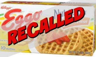 Kellogg's Eggo Waffles Recall Alert