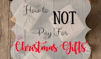 How to NOT Pay for a Single Christmas Gift This Year