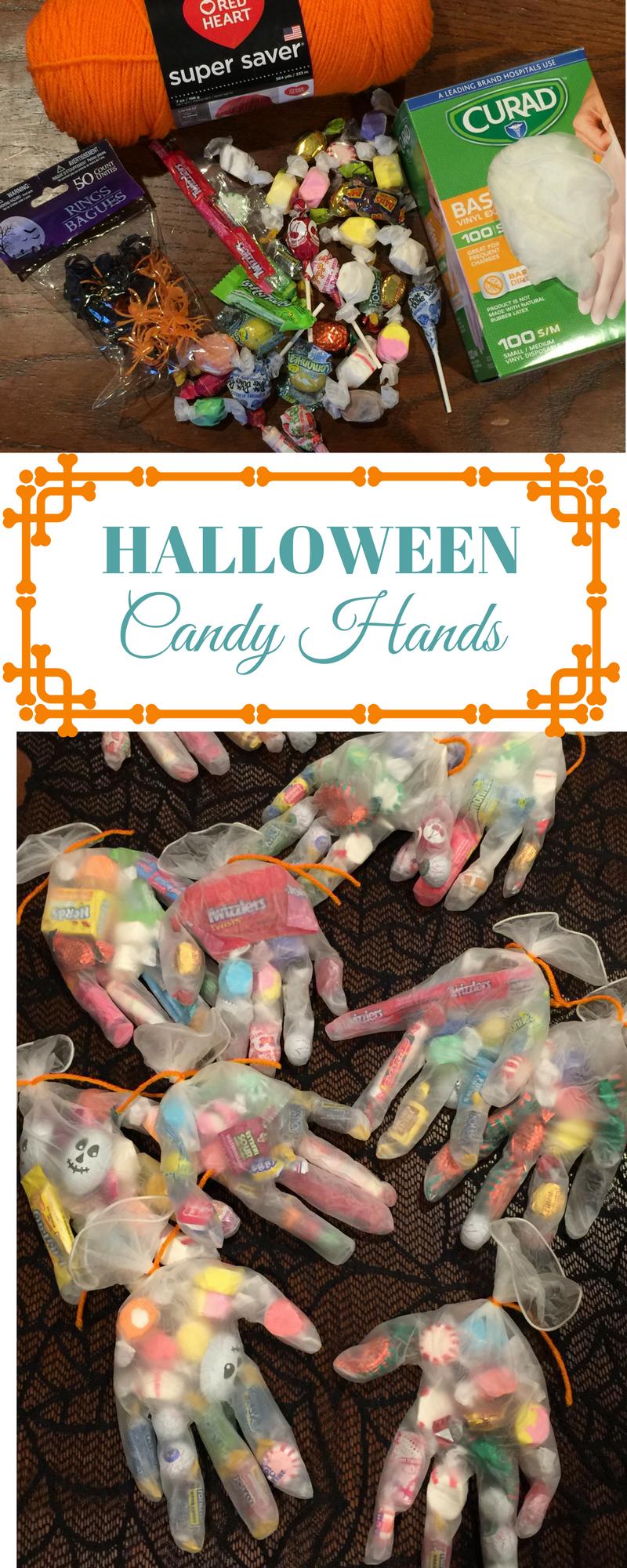 Halloween Candy Hands