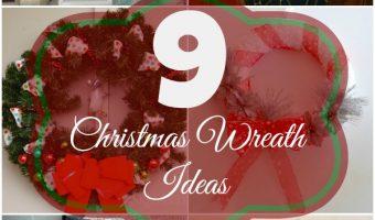 9 DIY Christmas Wreaths Ideas