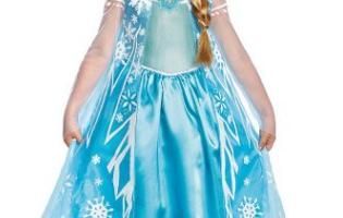 Amazon: Disney Elsa Costume – Hot Price!