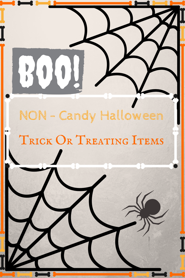 Halloween Non Food Items To Give Trick Or Treaters