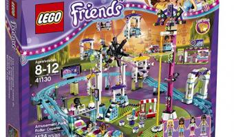 Lego Friends Amusement Park Roller Coaster Building Set just $79.76 (Reg $99)