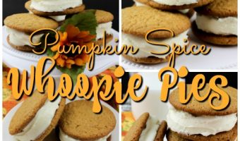 Pumpkin Spice Whoopie Pies with Cinnamon Cream Cheese Filling