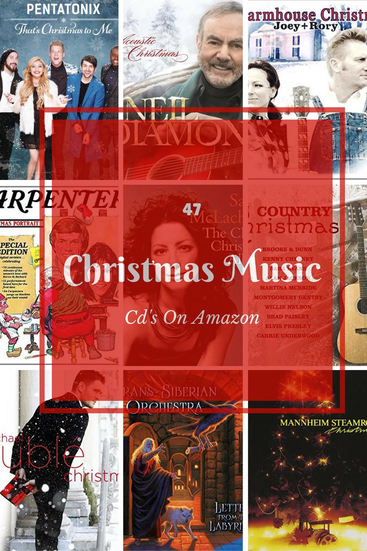 47 Christmas Music CD's On Amazon