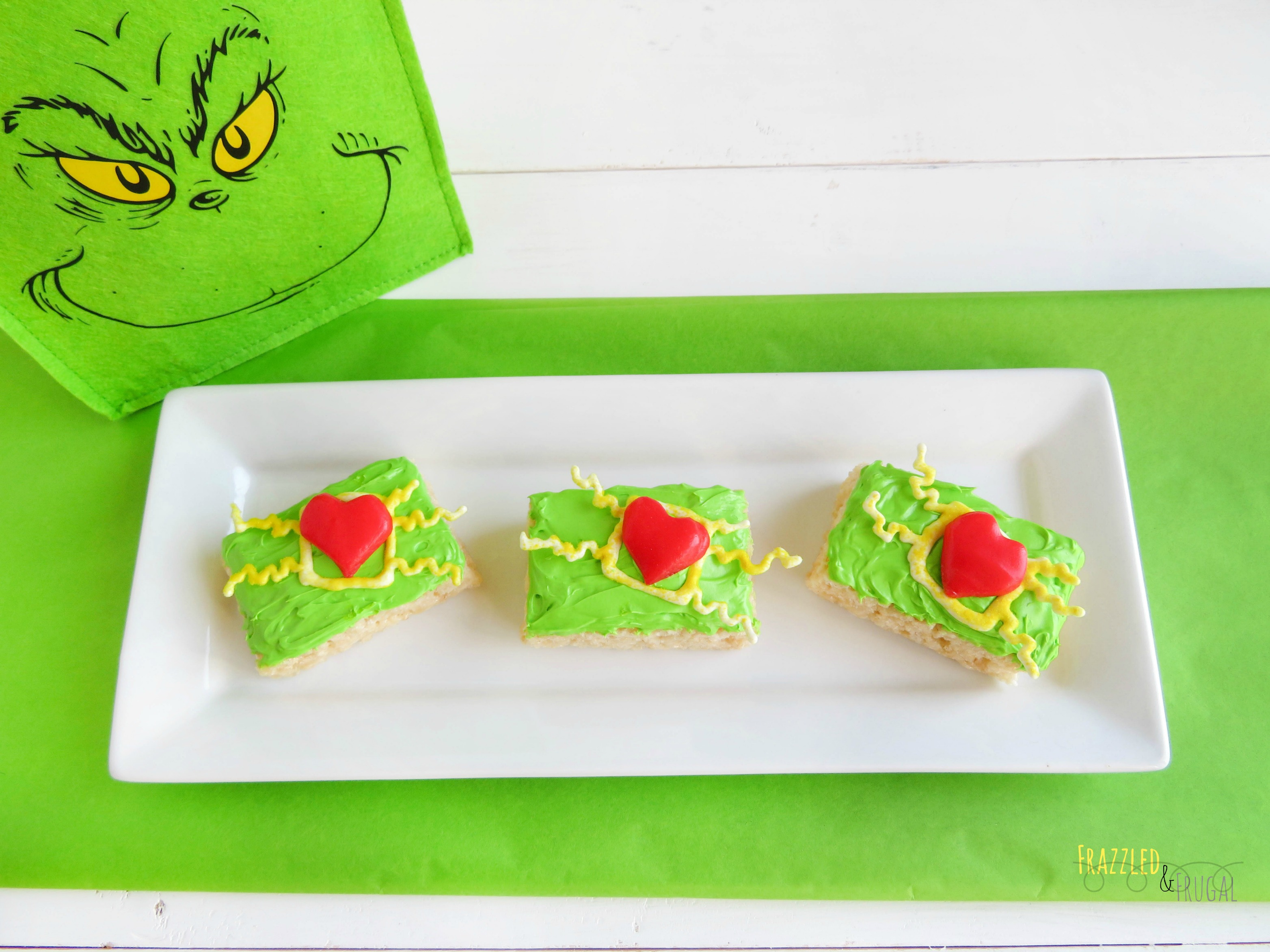 The Grinch Rice Krispie Treats