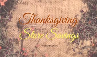 Thanksgiving Store Retail Sales – Coupon Matchups