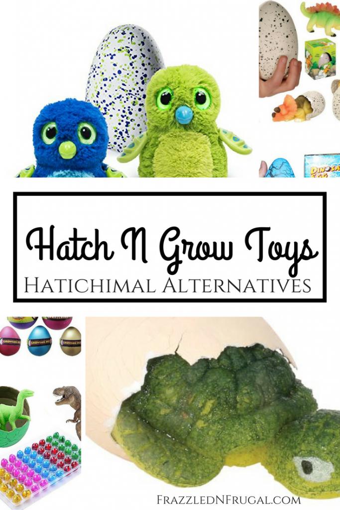 Hatch n Grow Toys - Hatchimals Alternatives
