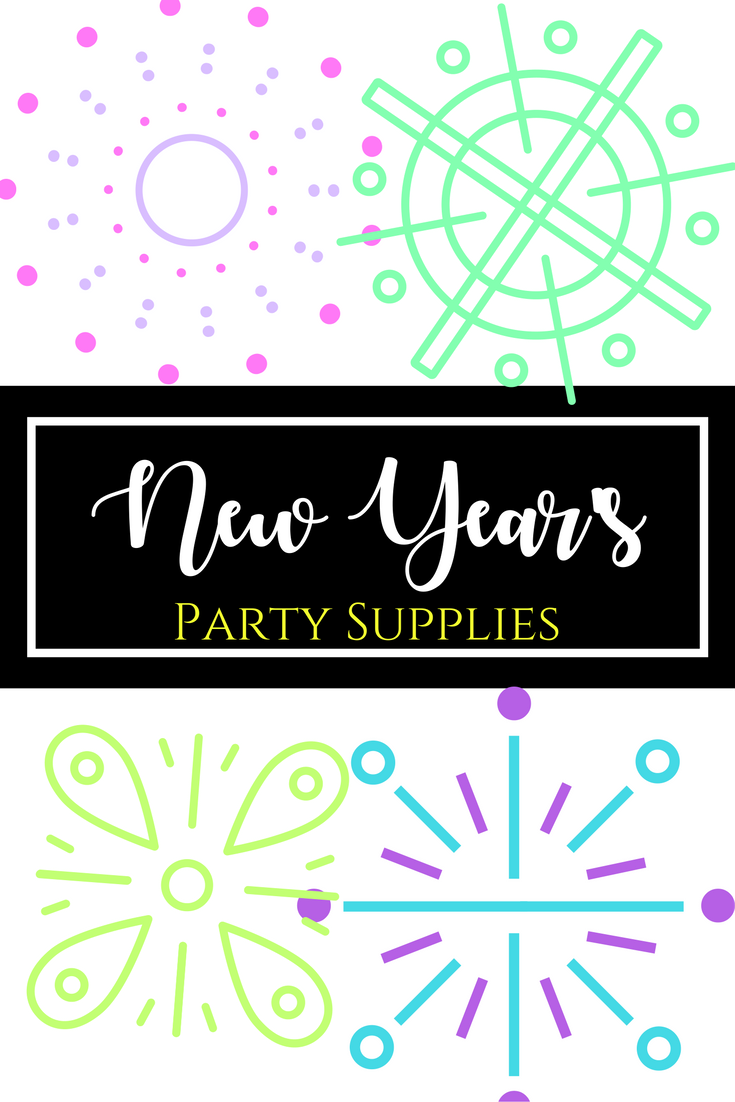 New Year's Party Supplies