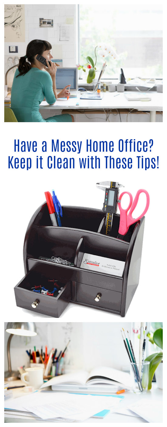 Have a Messy Home Office? Keep it Clean with These Tips!