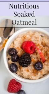 Soaked Oatmeal