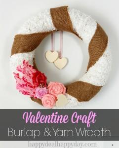 valentine-crafts-burlap-yarn-wreath
