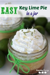 Easy Key Lime Pie In a Jar