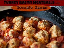turkey-bacon-meatballs-with-tomato-sauce