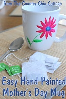 Easy Hand Painted Mug