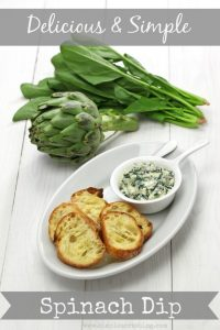 Delicious Simple Spinach Dip