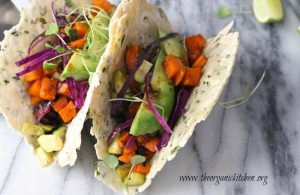 Sweet Potato Tacos With Grain Free Herbed Tortillas