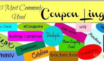 50 Most Commonly Used Coupon Lingo