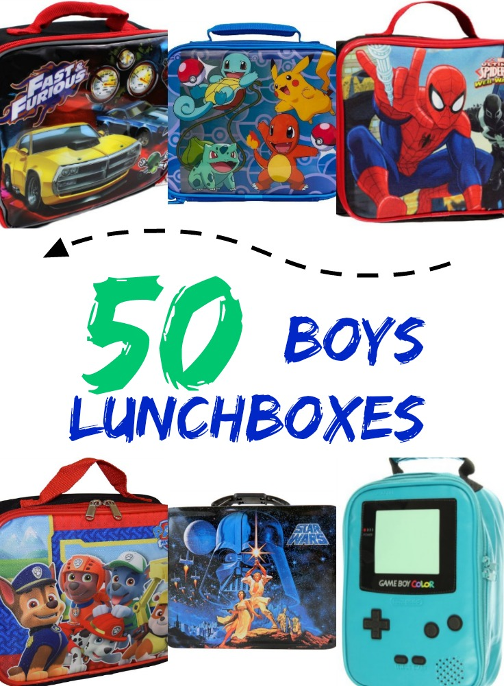Boys-Lunchboxes