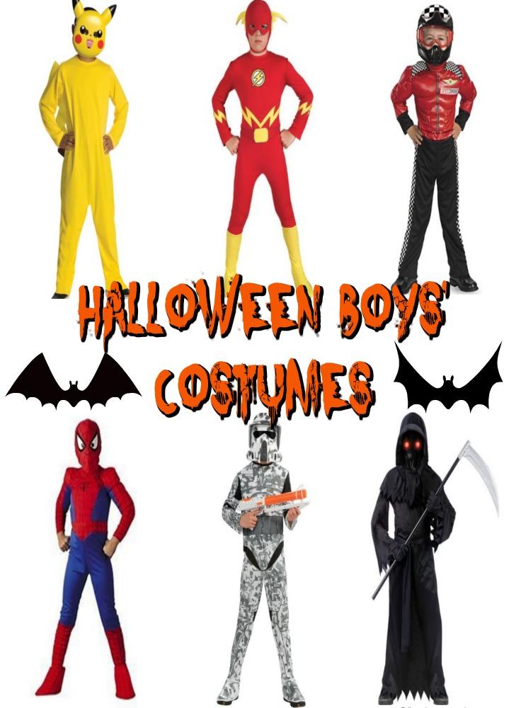 Halloween Boys Costumes