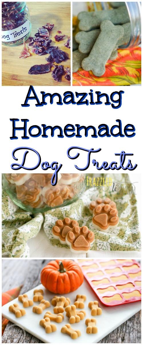 Amazing Homemade Dog Treats