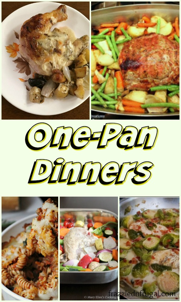 Easy, Delicious One Pan Dinner Recipes