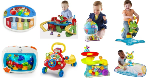 Amazon Holiday Toy List for Newborn - 24m Age Group