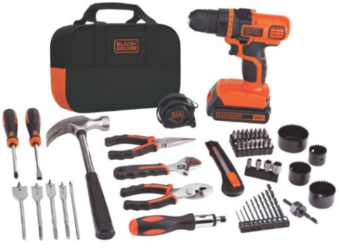 black-n-decker-drill-set