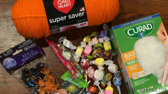 Halloween Candy Hands - What you need