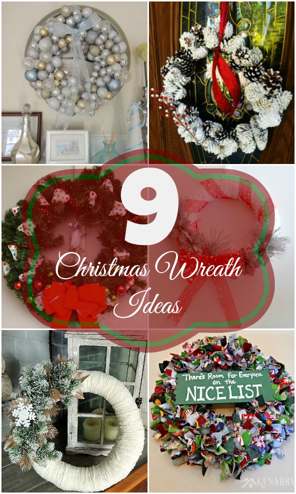 9 simple christmas wreaths you can make yourself