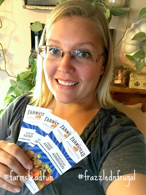 The Farmstead ticket giveaway