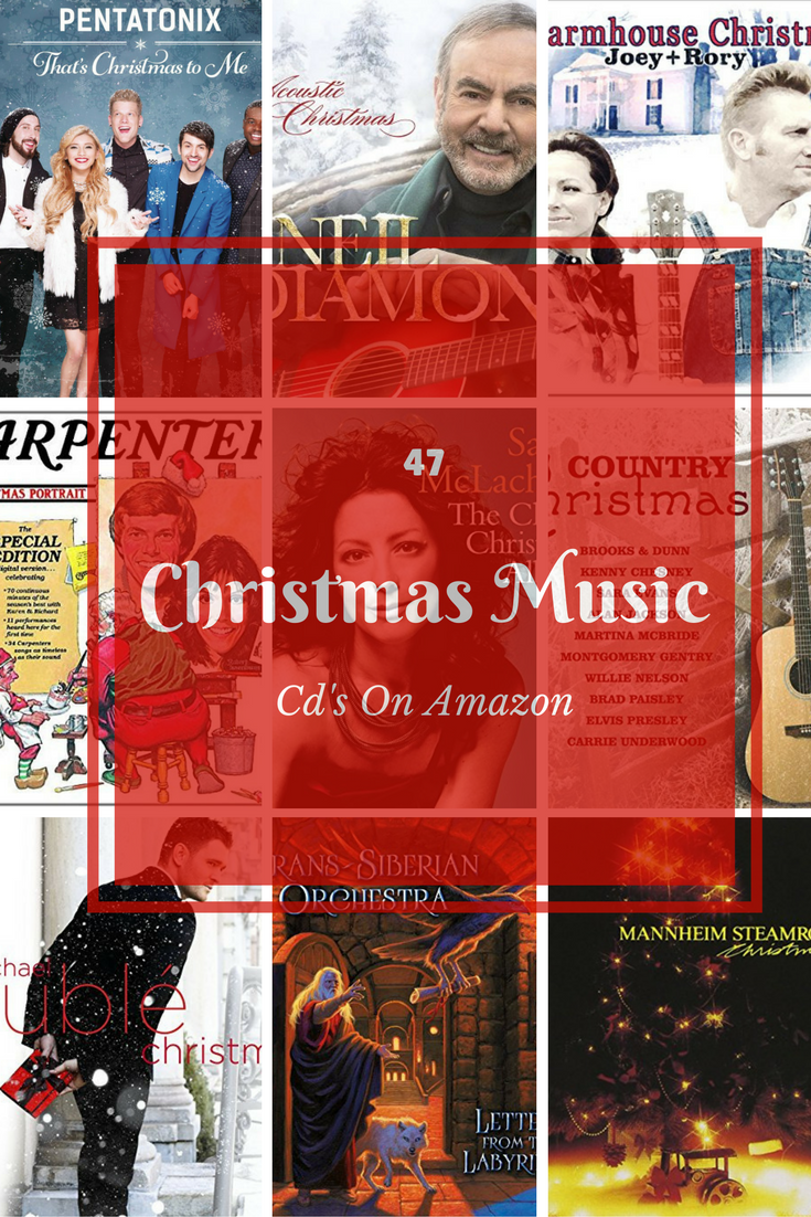 47 Christmas Music CD's On Amazon