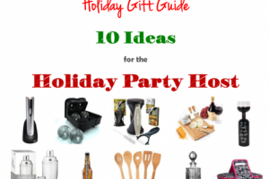 Holiday Gift Guide: 10 Party Host Gift Ideas