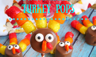 Simple Marshmallow Turkey Pops