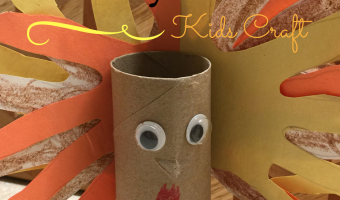 Toilet Paper Roll DIY Turkey Craft