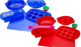 Silicone Bakeware Set only $16.97 + FREE Store Pickup (Reg $28)