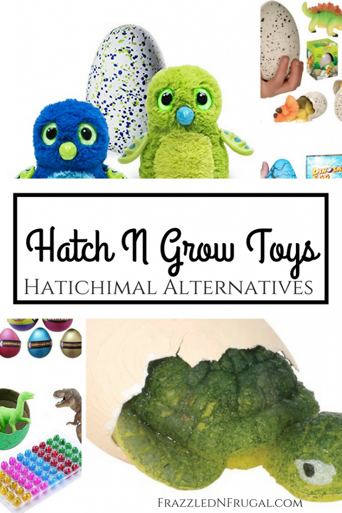 Hatch n Grow Toys - Hatchimals Alternatives
