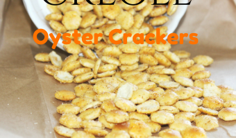 Creole Seasoned Oyster Crackers Recipe